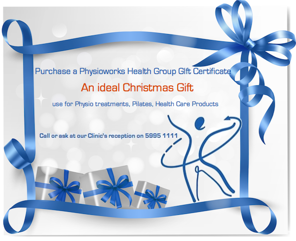 Physioworks Cranbourne Christmas Gift Certificate