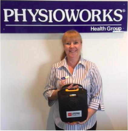 Physioworks Lifepaks AED's